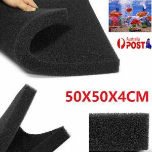 Aquarium Fish Tank Filter Bio-Sponge Biochemical Tank Media Block Foam Pad Black