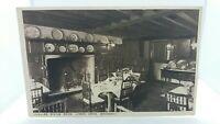 Vintage Postcard Lygon Arms Broadway Smaller Dining Room.