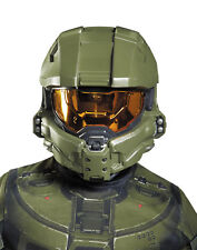 HALO Master Chief Child Half Mask Soldier Army Video Games Halloween Party