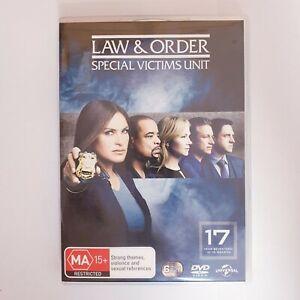 Law & Order Special Victims Unit Season 17 DVD TV Series Free Post Region 4 AUS