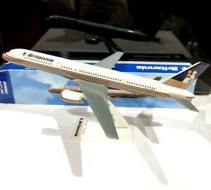 Long Prosper 1 Britannia Airways Boeing 757 200 scale plastic model air plane