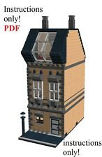 Lego Custom Modular Residential Building PDF INSTRUCTIONS ONLY
