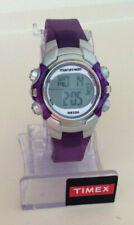 TIMEX Women's Marathon Purple Digital Indiglo Night-Light Alarm Sports Watch-NEW