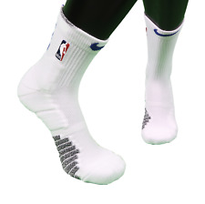 New Nike 2XL NBA Authentics Team Issued Detroit Pistons Over Ankle Socks White