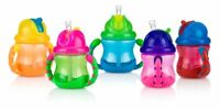 Baby Feeding - Nuby - 8oz No-Spill Grip n' Sip Cup (1 Only) Vary Color 9845
