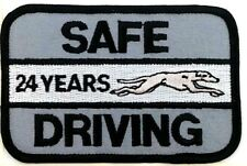 Greyhound Bus Line Patch New Old Stock Nos Safe Driving Travel 24 Year Transport