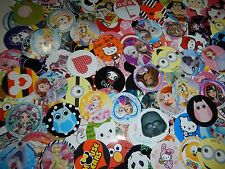 "141  Huge Characters 1"" inch  Precut Bottle-Cap Images Bows Scrapbooking Mix Lot"
