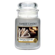 Yankee Candle Crackling Wood Fire Large Jar Scented Candle