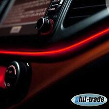 5m EL Neon Wire 12V Ambiente Effekt Kabel Licht Leucht Schnur Draht ROT