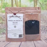 Nigella Sativa Graines/Noir Graines Cumin 50g - Health Embassy 100% Naturel