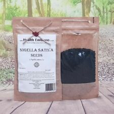 Nigella Sativa Seeds/Black Seeds Cumin 50g - Health Embassy 100% Natural