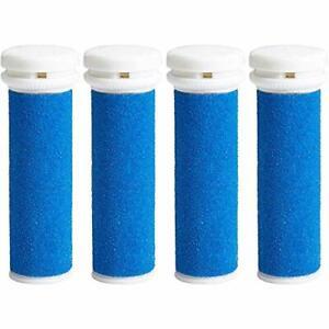 My Rollers™ Mineral Ersatzrollen (Blau) Für Micro Pedi Im 4Er-Pack|Grob