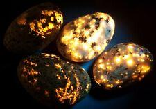 4 Pattern Mix YOOPERLITE SET!  Lake Superior Fluorescent Sodalite GLOW Rocks