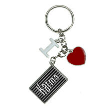 Karma Your Fate and Destiny I Heart Love Keychain Key Ring