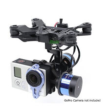 TAROT T-2D V2 GOPRO 3 BRUSHLESS CAMERA GIMBAL & ZYX22 CONTROLLER BOARD COPTER UK