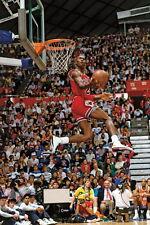 """14 Michael Jordan Slam Dunk NBA 24""""x36"""" Poster"""