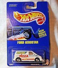 Vintage Hot Wheels 0586 (186) Ford Aerostar on Original Card