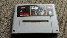 3x Nintendo SNES Super R-type Super Star Wars STARWING juego carros sólo PAL