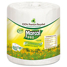 Marcal PRO 100% Recycled Bathroom Tissue White 240 Sheets/Roll 48 Rolls/Carton