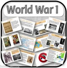 KS2 storia-WWI / GUERRA MONDIALE 1 primario risorse di insegnamento e attività