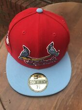 St. Louis Cardinals Pink Bottom New Era 59Fifty Fitted Hat Size 7 5/8