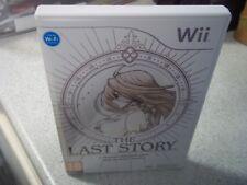The Last Story: Nintendo Wii PAL Nuevo Estuche Vacío & Incrustación de reproducción solamente.