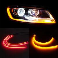 Practical DRL Daytime Running Light Car Headlight Eyebrow Light Auto Led Strip