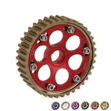 Racing Pro Series Adjustable Anodized Cam Gears Pulley For Honda Civic D Series