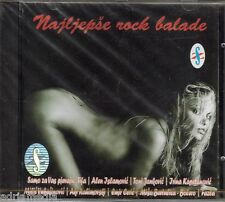 Najljepse Rock Balade CD Divlje Jagode Tifa Alen Parni Valjak Vatreni Best Hit