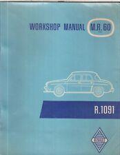 RENAULT DAUPHINE GORDINI (1960-1961) ORIGINAL FACTORY WORKSHOP MANUAL