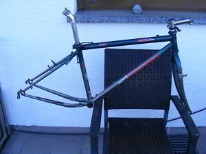 UNIVEGA Alpina PRO Stahl-Rahmen Retro vintage Kult bike MTB 90er frame-set