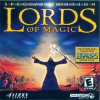 Special Edition LORDS OF MAGIC PC Game 2000 Sierra Studios Windows CD-ROM
