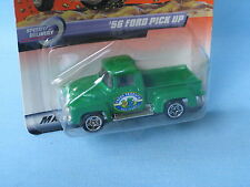 Matchbox 1956 Ford Pick Up Camión de fruta con verde cuerpo de cultivo Coche Modelo de juguete