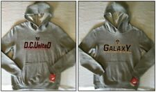 MLS Youth Hoodie, D.C. United (L), Los Angeles Galaxy (M) Soccer Cotton Blend