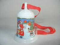 Hutschenreuther Weihnachtsglocke Porz. 1996 In der Burg (meine. Art.-Nr. 1996-6)