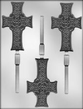 Celtic Cross Lollipop Chocolate Candy Mold from CK #7216 - NEW