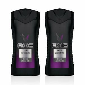 Pack of 2 Excite Axe Shower Gel Body Wash 16 oz
