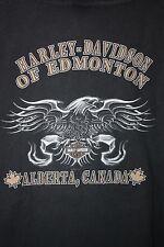 Harley Davidson of Edmonton Alberta Canada 3 Button Shirt XL