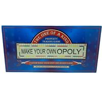Make Your Own Opoly Custom Board Game NEW Factory SEALED Monopoly Homeschool
