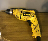 DEWALT DW106 3/8 in. Corded Pistol Grip Power Drill Impact WORKS GREAT!