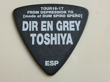 Guitar Pick Toshiya Model ESP TOUR 16-17 FROM DEPRESSION TO DUM  DIR EN GREY