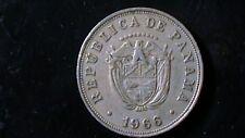 PANAMA KM23.2 1966  5 CENTESIMOS COIN FREE US SHIPPING  739A5