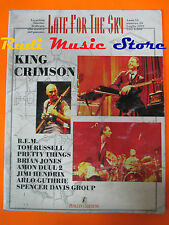 rivista LATE FOR THE SKY Magazine 29/1997 King Crimson Jimi Hendrix R.E.M. No cd