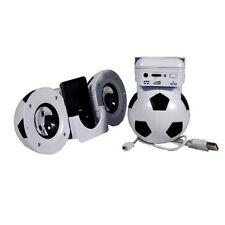 Computadora portátil de fútbol & Altavoces MP3 USB y la energía de la batería con Control De Volumen