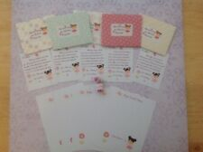 Tooth Fairy Letters, Letter Cards, Personalised, Pink, With Fairy Dust, Any Name