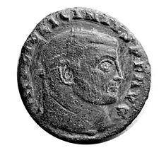 ANCIENT ROMAN COIN - LICINIUS I. 263–325AD - IOVI CONSERVATORI  #TE144