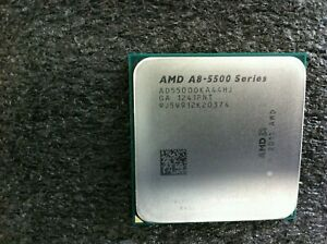 AMD A8-5500 3.2GHz Quad-Core CPU Processor AD5500OKA44HJ Socket FM2 - CPU440
