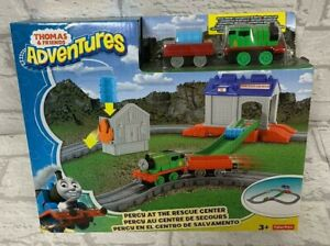 Thomas and Friends Percy at the Rescue Centre Adventures Playset Brand New