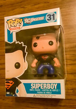 FUNKO POP SUPERBOY #31 DC UNIVERSE HEROES VINYL FIGURE! VERY RARE! RETIRED!