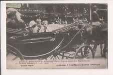 Vintage Postcard King Albert I of Belgium & Royal Children